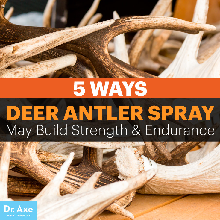 Deer antler spray - Dr. Axe